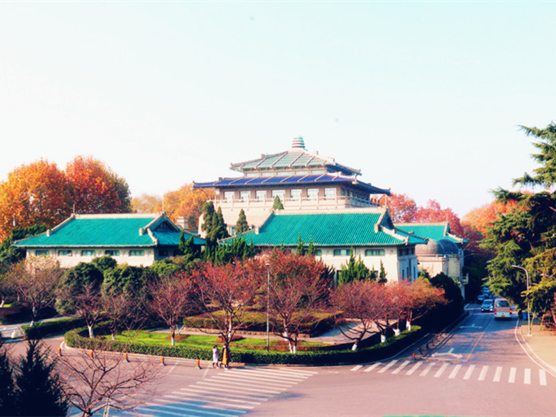 武汉大学校园风光一